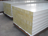 Clean room materials, rock wool sandwich panel